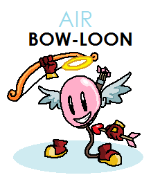Dual Strike Contest Second Place Prize - Bow-Loon by joltzen
