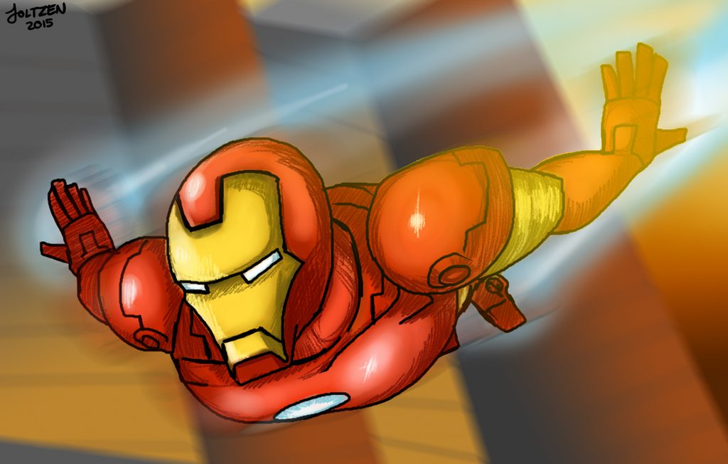 The Man of Iron (+speed drawing in description) by joltzen
