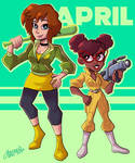 APRIL x2 by joltzen