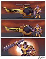 THANOSCOPTER by joltzen