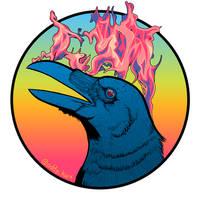 firebird by AdrianKendallArt