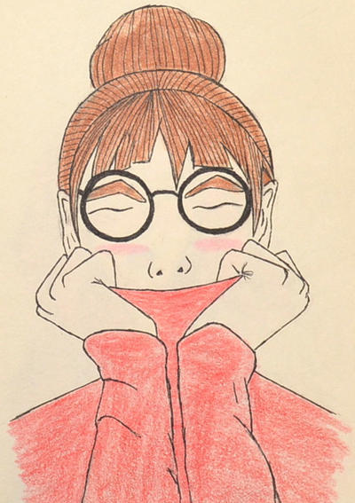 Random girl portrait 2 by Kobaitchi