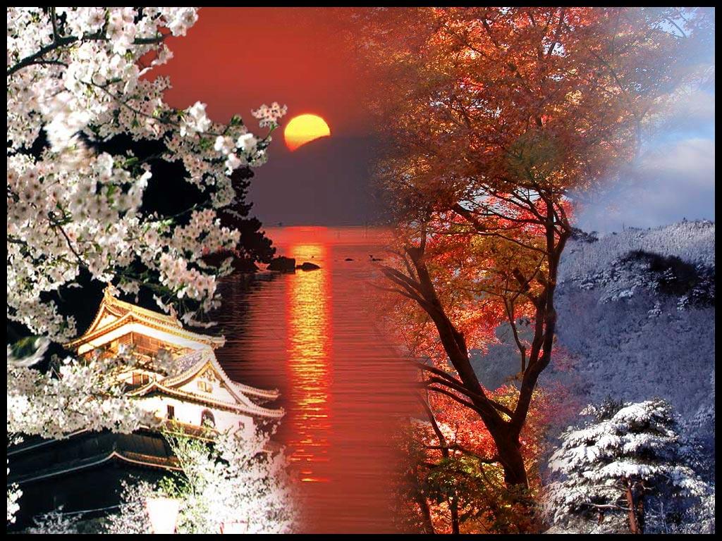 Four Seasons Japan by jasebase