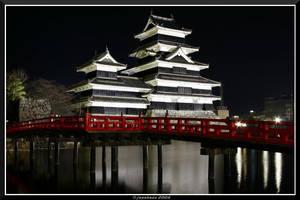 Matsumoto Castle by jasebase