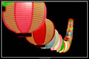 Japanese Lanterns by jasebase
