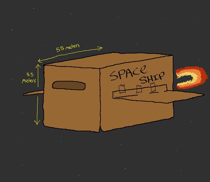 Awesome starship