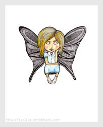 I Am a Butterfly by kirliux