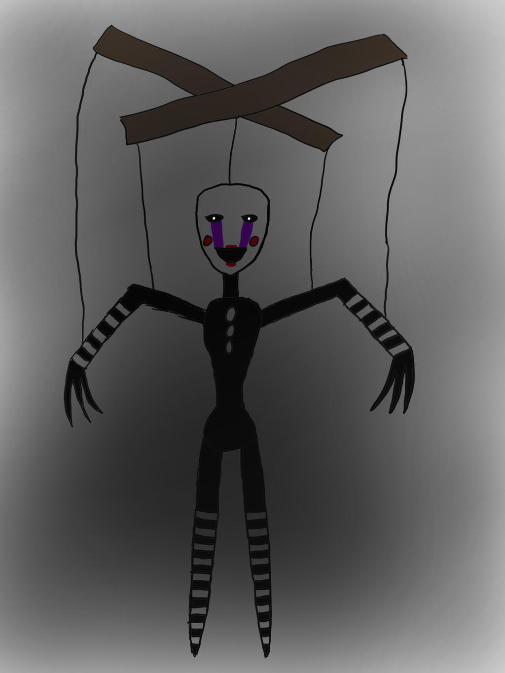 ... FNAF The Puppet by Ghost-Rebel