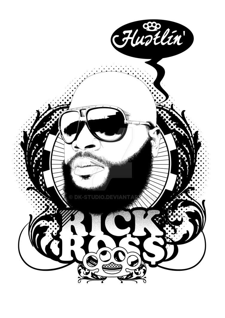 Rick Ross by DK-Studio