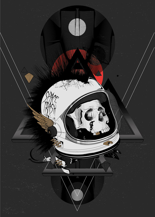 Space Trash V3 by DK-Studio