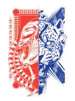 Cheetah Skull by DK-Studio