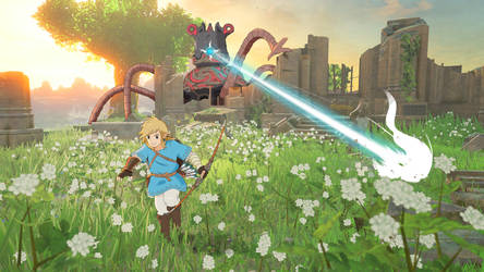 The Legend of Zelda: Breath of The Wild / Ghibli
