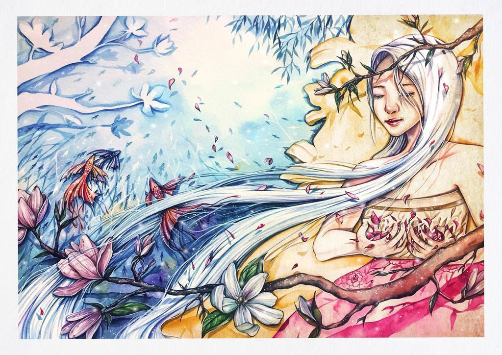 Magnolia  by jminsart