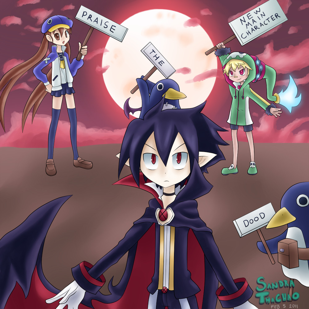 Disgaea: PRAISE HIM by Sandette
