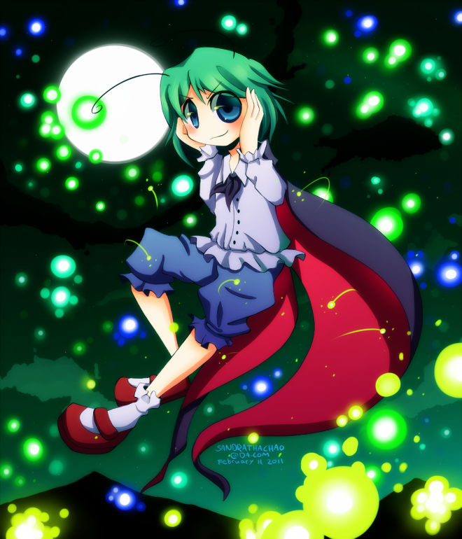 Touhou: Wriggle Nightbug by Sandette