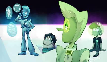 Steven Universe The Trial - Zircons redraw by Sandette