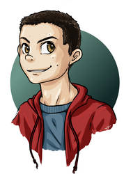 Stiles Stilinski by Shin-ai