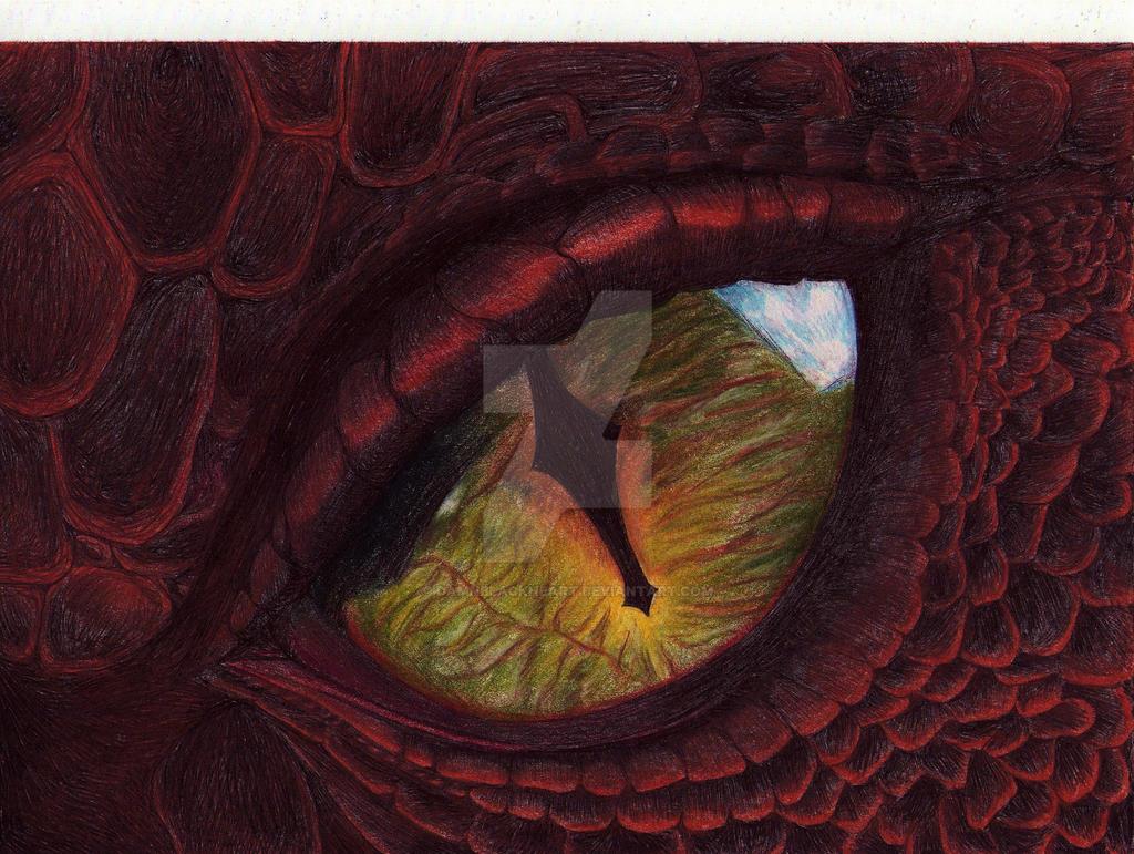 Smaug's Eye by DamnBlackHeart