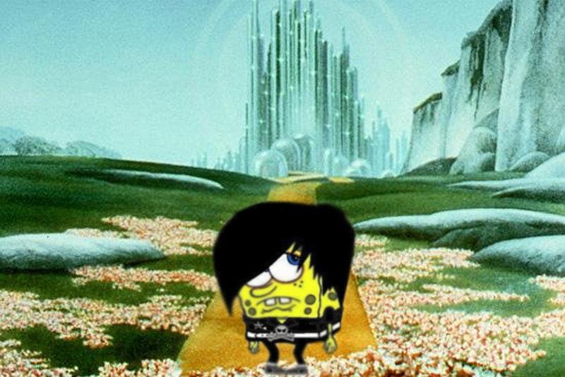 spongebob in the emerald city by keyboardsamurai