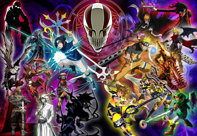 Anime Mix By Reptiletc