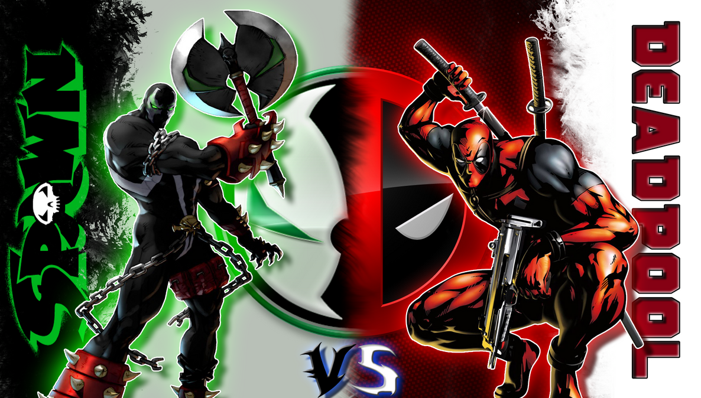 Deadpool Vs Spawn By Reptiletc
