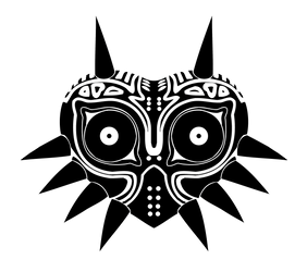 Majoras Mask Vector by reptiletc