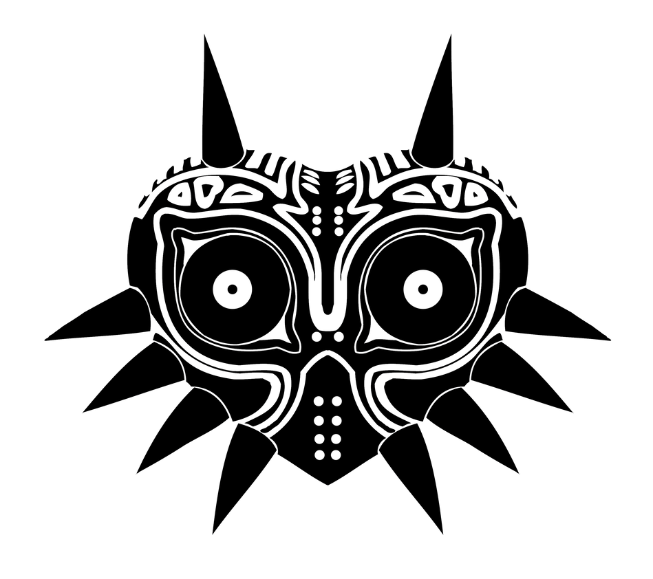 Majoras Mask Vector by reptiletc