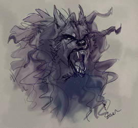 ANA werewolf by Stworzenie