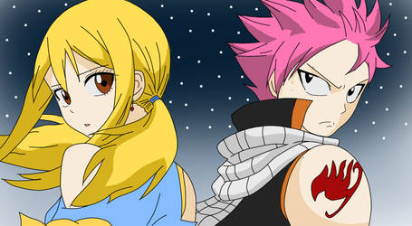 The Dragon and the Princess (NaLu FanArt)