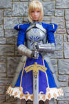 Saber Cosplay: Strong Without Change
