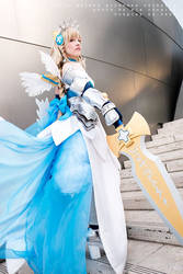 Puzzle and Dragons: Azure Maiden Princess Valkyrie by ashelikescake