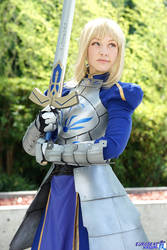 Saber Cosplay: With These Two Hands by ashelikescake