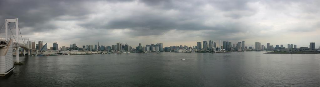 Tokyo Bay by MikeTrawilson