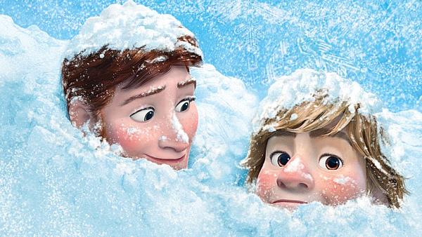 Disney's Frozen Kristoff + Hans Hansoff snowed in by cdpetee