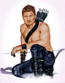 Renner Hawkeye ShonnaWhite with color