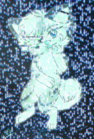 Glitched out-Phoenix by CheesyRobotMacaroni