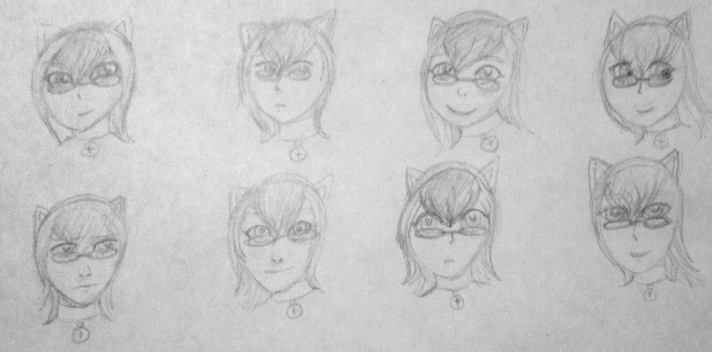 gijinka-despairland: Yukiko in Different Styles by Trial-Of-The-Dragon