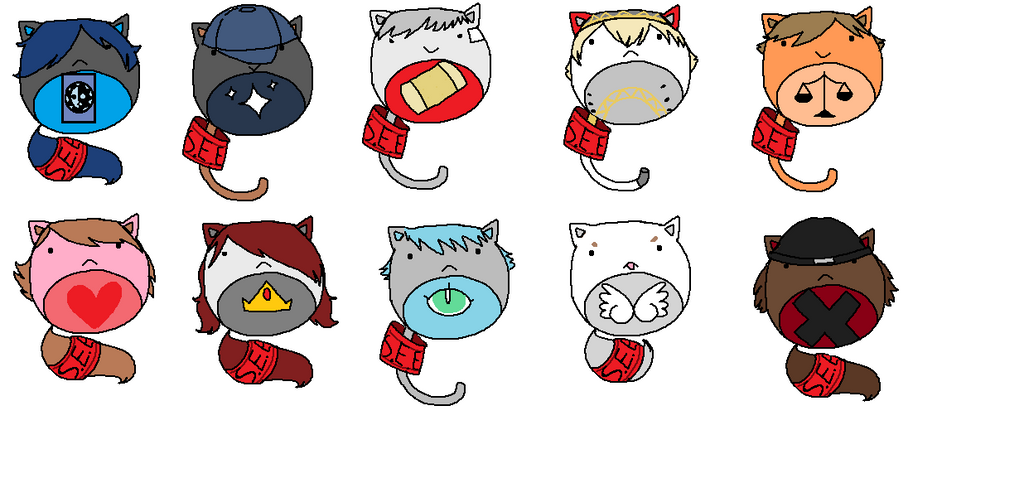 Persona 3 Nuggetcats (OPEN) by Trial-Of-The-Dragon