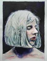 Aurora Aksnes by Rellah-ART