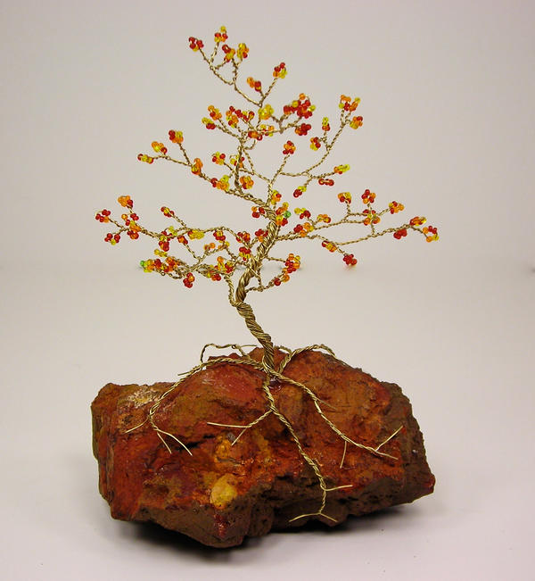 Autumn Bonsai Tree by Lady-Blue
