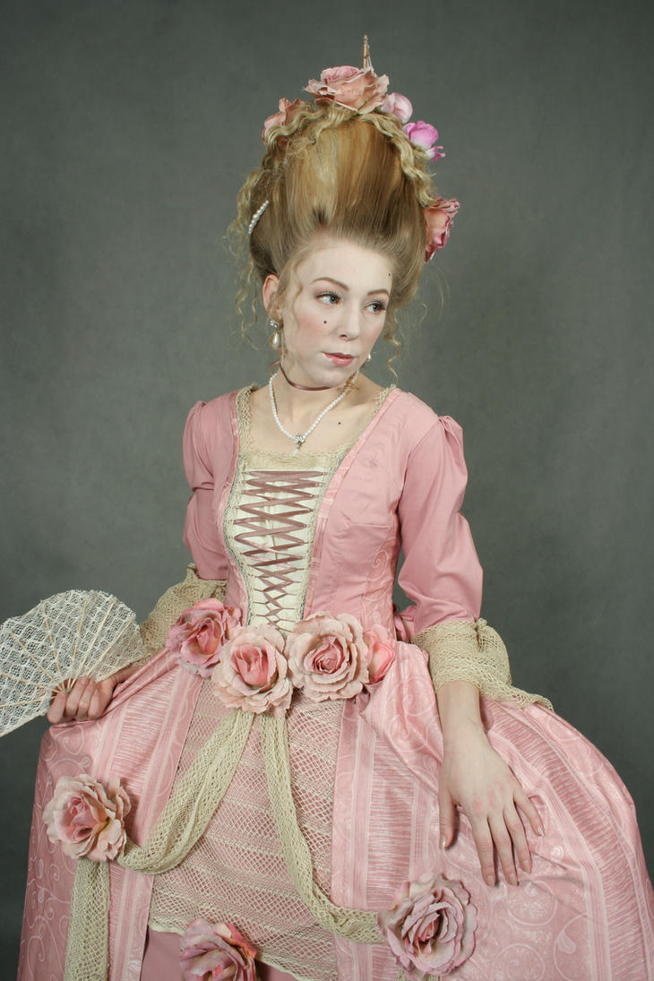 Rococo marie antoinette style by holietka on deviantart for Baroque fashion trend
