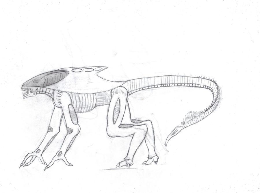 Xenomorph praetorian runner by  Xenomorph Runner