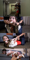 Grabbed and Gagged By Surprise