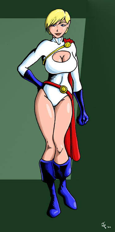Power Girl by lusiphur