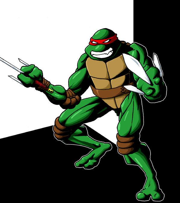 Raphael - Ninja Turtle by lusiphur on DeviantArt