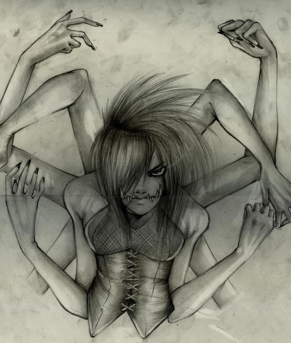 Spider Queen by blackangelofmine