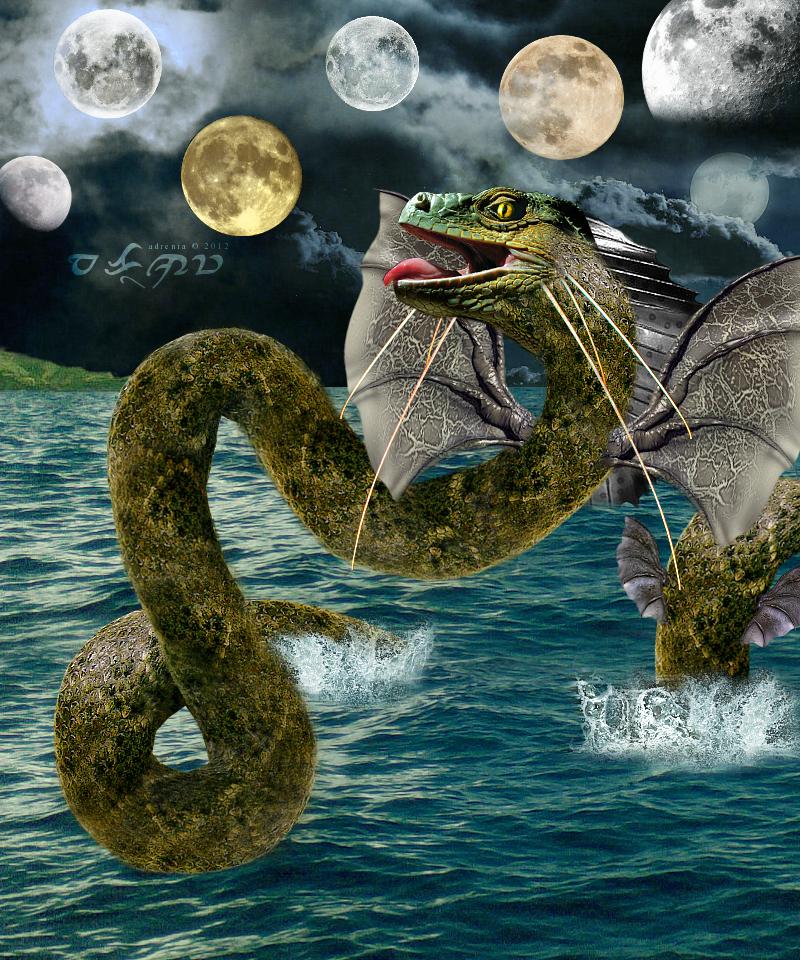 Image result for bakunawa moon eating dragon