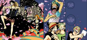 Luffy and nakama