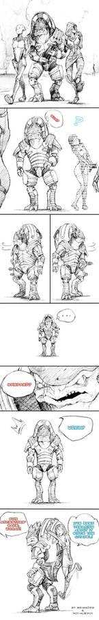 Shepard? - Wrex?