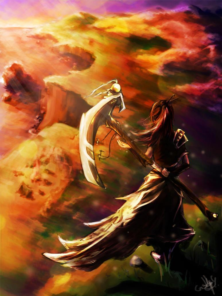 Warrior by Krisboo9